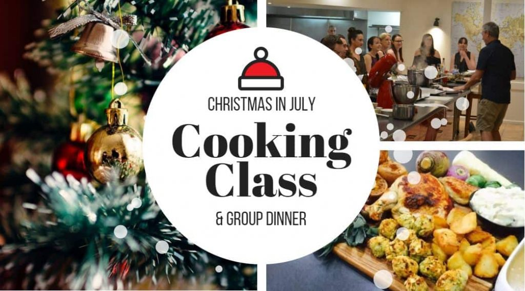 Christmas in July cooking class