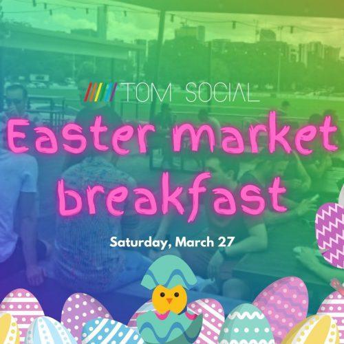 Easter market breakfast